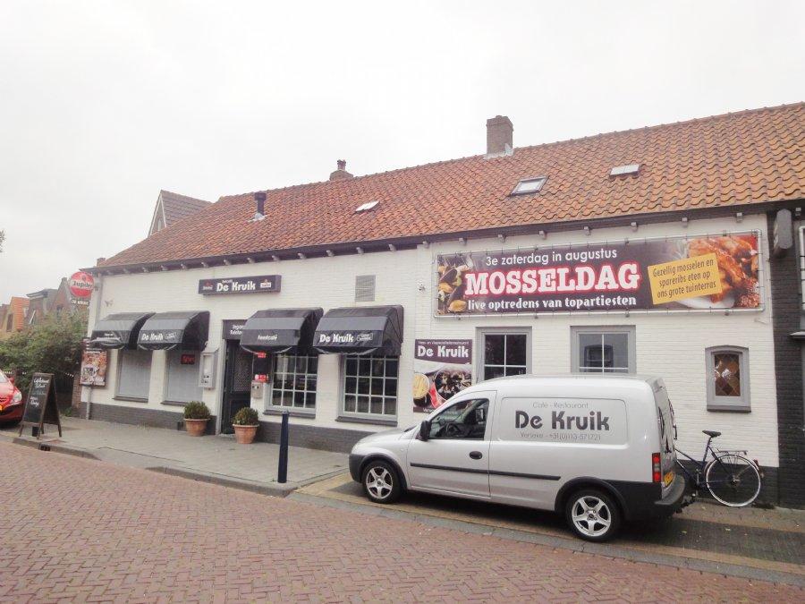 NIEUW TER OVERNAME Café-Restaurant met bovenwoning en groot terras
