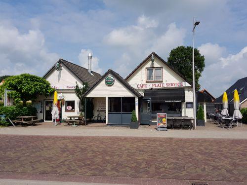 Eetcafé-Cafetaria met terras