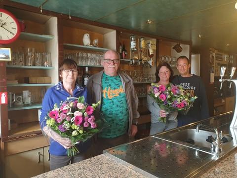 Café de Kastanje per 14 april officieel overgedragen!